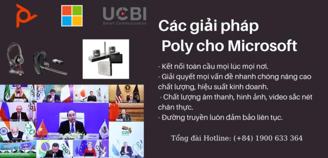 giải pháp poly cho microsoft